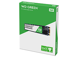Накопитель M.2 SSD 240GB WD Green (WDS240G2G0B)
