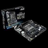 Материнская плата Asus X99-M WS/SE (s2011, Intel X99, PCI-Ex16)