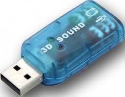 Звуковая плата 3D Sound 5.1 E000087, USB