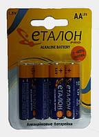 Батарейка AA Еталон LR6/4-BL (Alkaline) (1шт.)