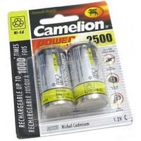 Аккумулятор C 2500mAh Camelion (2шт.)
