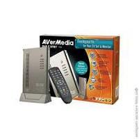 ТВ тюнер AVerMedia DVB-T STB7, автономный, цифровой + аналоговый, до 1280x1024, поддержка 16:9