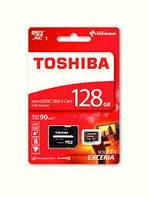 Флеш память microSDXC 128GB Toshiba + SD (UHS-I) (THN-M302R1280EA)