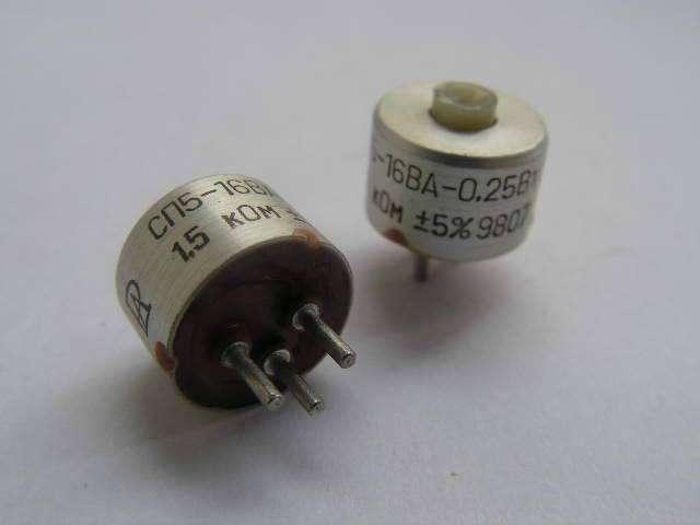 Резистор СП5-16ВА 0,25 Вт 4,7 Ом