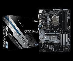 Материнская плата ASRock Z390 Pro 4 (s1151, Intel Z390, PCI-Ex16)