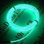 Изделие neon 5m Зеленый, декоративная подсветка для авто, рекламных вывесок