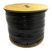 Dialan RG59 0,8 Cu+2x0,50 Econom (c питанием) Чёрный 305 м