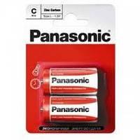 Батарейка Panasonic R14 Zinc Carbon (2 BL) (1шт.)