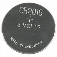 Батарейка CR2016 T&E (1шт.)