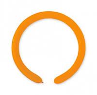 Шарики для моделирования 260-F оранжевые 100шт/уп, FunFan - лучший магазин товаров для праздника! (01309)