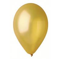 """Шарики золото 10""""(26см) металлик 100шт/уп 09391"""