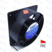 Бытовой осевой вентилятор (квадрат-круг) 5-ти лопостной 120*120*38, 220 V мощностью 23wTidar (Китай)