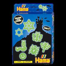 Термомозаіка Hama Набір Світяться фігурки