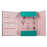 Папка для праці першокласника для дівчаток з наповненням Hello Kitty, А4 на гумці економ, фото 2