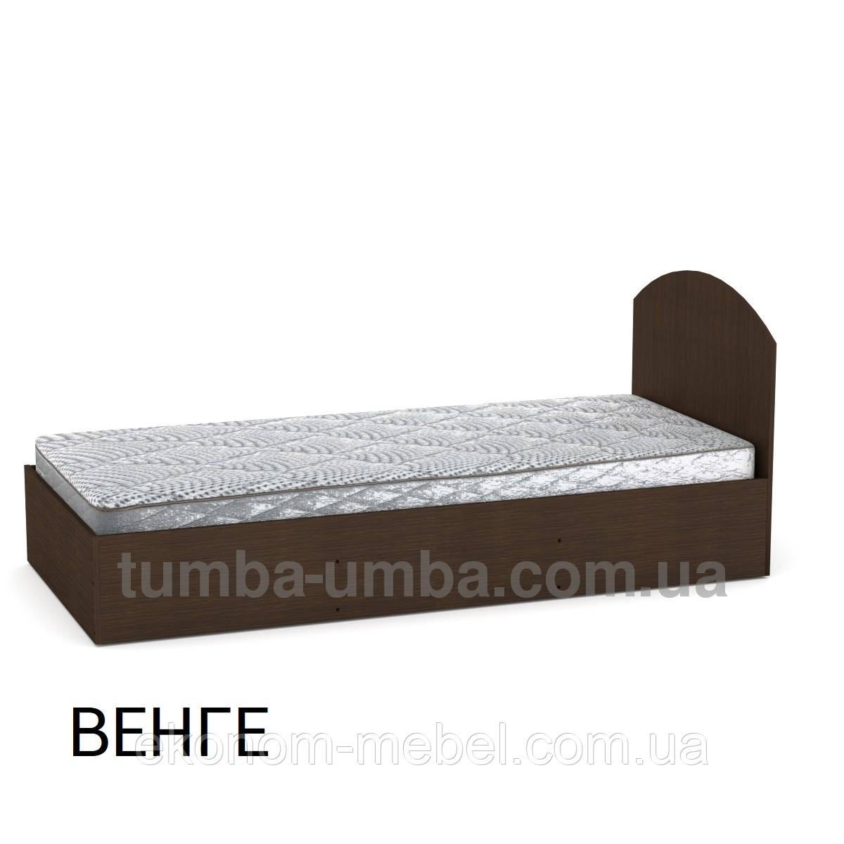 Кровать-90 ДСП односпальная с нишей для белья