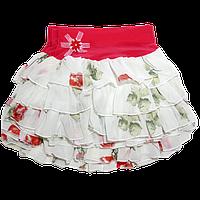 Шифоновые красивые юбки на девочку, новое поступление