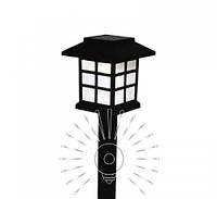 Светильник газонный садово-парковый на солнечной батарее Lemanso CAB121