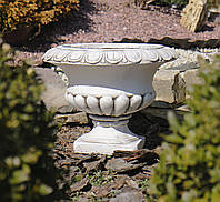 Садовая скульптура Малый цветочный горшок 33x33x25 cm SS12138-58 цвет бежевый. , фото 1