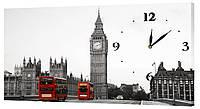 Настенные часы Декор Карпаты 24х44 Серый (24х44-g24)