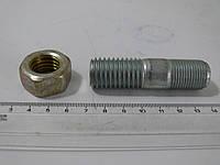 Шпилька колесная, гайка усиленная, высокая КАМАЗ (к-кт 5 шт.) , фото 1