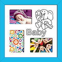 "Фоторамка коллаж ""Baby"" 38х38 см (М5-174)"