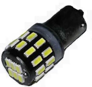 Лампа LED 12V T4W (BA9s) 30SMD 3014  315Lm БЕЛЫЙ