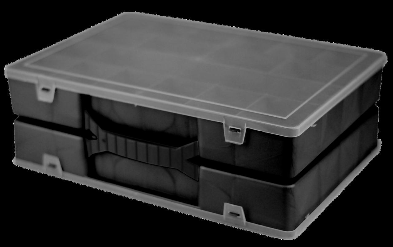 Органайзер двойной 304х206х100 мм Черный