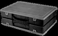 Органайзер двойной 304х206х100 мм Черный, фото 1