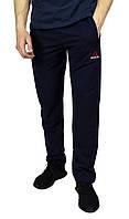 Темно-синие мужские спортивные трикотажные штаны REEBOK, фото 1