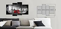 Модульная картина Декор Карпаты Vip Collection 120х80 см (VIP-M4-497)