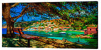 Картина на холсте Декор Карпаты Города 50х100 см (G1578)