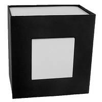 Универсальная коробка для наручных часов черного цвета с подушечкой, код 0014