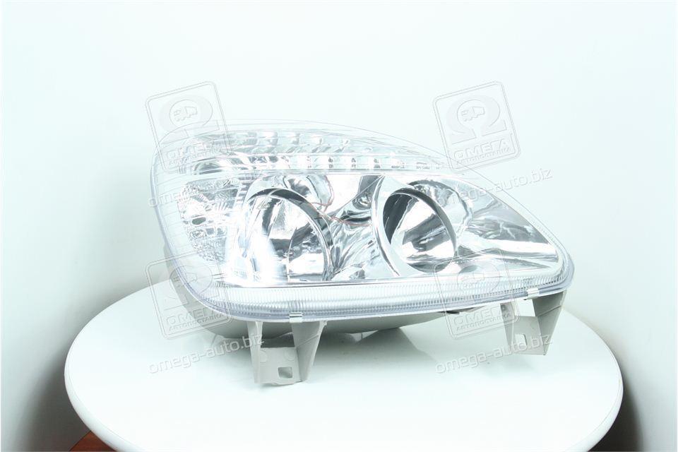 Фара ГАЗ 3302 (капля) нового образца правая (пластик)