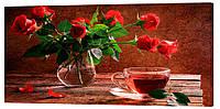 Картина на холсте Декор Карпаты Цветы 50х100 см (c537)