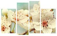 Модульная картина Декор Карпаты 110х70 см Цветы (M4-c15)