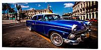 Картина на холсте Декор Карпаты Автомобили 50х100 см (M188)