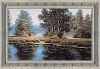 Гобеленовая картина Декор Карпаты Летние утро 80х120 (gb_21)