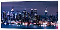 Картина на холсте Декор Карпаты Города 50х100 см (G1179)