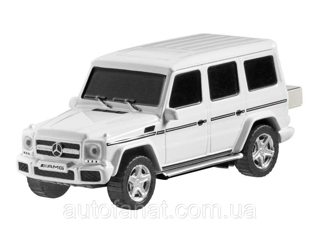 Оригинальная флешка Mercedes-Benz G 65 USB Stick, 16GB, AMG, White/Black (B66953229)