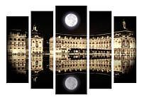 Модульная картина Декор Карпаты 120х80 см (M5-495)