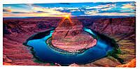 Картина на холсте Декор Карпаты Каньйон 50х100 см (p141)