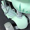 Детский Самокат С сиденьем и родительской ручкой Scooter PRO -  Самокат 5 в 1 - Ментол, фото 2