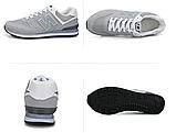 Кроссовки в стиле New Balance 520 серые, фото 2