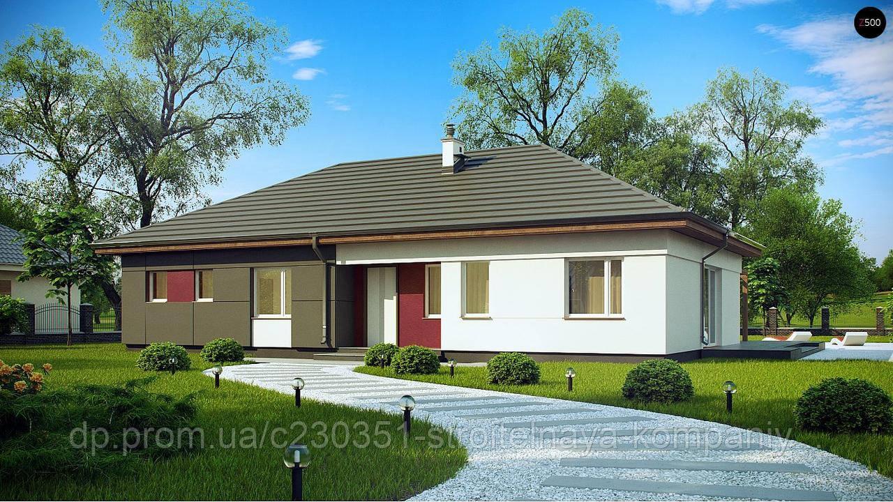 Проект дома uskd-72