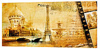 Картина на холсте Декор Карпаты Города 50х100 см (g172)