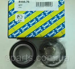Подшипник передней ступицы c АБС RenaultSandero (SNR R155.75)(высокое качество)