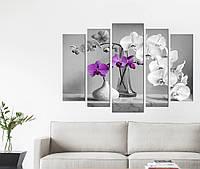 Модульная картина Декор Карпаты Vip Collection 120х80 см (VIP-M5-k629)
