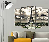 Модульная картина Декор Карпаты Vip Collection 120х80 см (VIP-M5-g110)