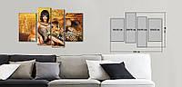 Модульная картина Декор Карпаты Vip Collection 120х80 см (VIP-M4-275)