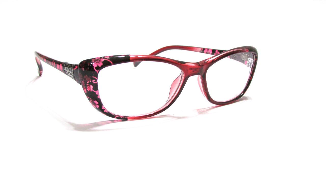 Жіночі окуляри з білої лінзою